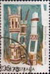 Sellos de Oceania - Australia -  Intercambio 0,40 usd 35 cents. 1971