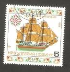 Sellos de Europa - Bulgaria -  3037 - Barco