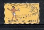 Sellos de America - México -  100 años del ingreso de México a la UPU