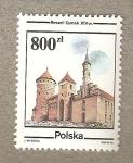 Stamps Poland -  Reszel Zamek