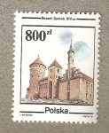 Sellos de Europa - Polonia -  Reszel Zamek