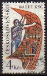Sellos de Europa - Checoslovaquia -  CHECOSLOVAQUIA 1981 Scott 2359 Sello Partido Comunista Trabajador usado Michel 2616