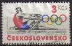 Sellos de Europa - Checoslovaquia -  CHECOSLOVAQUIA 1984 SCOTT 2529 SELLO JUEGOS OLIMPICOS REMO Michel 2784