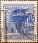 Stamps : Europe : Austria :  Intercambio 0,20 usd 3 s. 1962