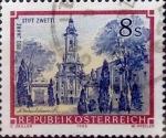 Stamps : Europe : Austria :  Intercambio 0,20 usd 8 s. 1988