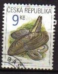 Sellos de Europa - Checoslovaquia -  CHEQUIA REPUBLICA 2002 SCOTT 3173 SELLO MOLUSCOS MARGARITIFERA Michel 323