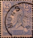 Stamps Europe - Belgium -  Intercambio 0,75 usd 25 cents. 1885