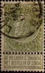 Sellos de Europa - Bélgica -  Intercambio 0,60 usd 20 cents. 1893