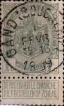 Sellos de Europa - Bélgica -  Intercambio 0,20 usd 1 cent. 1907