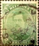 Sellos de Europa - Bélgica -  Intercambio 0,20 usd 5 cents. 1915