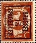 Sellos de Europa - Bélgica -  Intercambio 0,45 usd 2 cents. 1912
