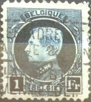 Stamps Belgium -  Intercambio 0,20 usd 1 franco 1921