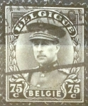 Stamps : Europe : Belgium :  75 cents. 1934