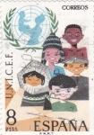 Sellos de Europa - España -  UNICEF  (17)