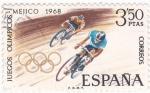 Sellos de Europa - España -  Juegos Olímpicos Mexico-68  (17)