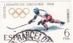 Sellos del Mundo : Europa : España :  Juegos Olímpicos Grenoble-68  (17)
