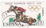 Stamps Spain -  Juegos Olímpicos Mexico-68  (17)