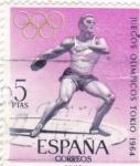 Sellos de Europa - España -  Juegos Olímpicos de Tokio  (17)