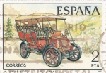 Sellos del Mundo : Europa : España :  Coche de epoca  (17)
