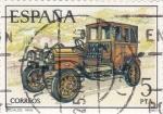 Stamps Spain -  Coche de epoca  (17)