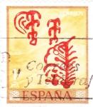 Stamps Spain -  Pintura rupestre (17)
