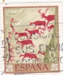 Sellos del Mundo : Europa : España :  Pintura rupestre (17)