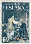 Sellos de Europa - España -  II Centenario de la canonización de San José de Calasanz (17)