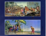 Stamps Spain -  Tapices