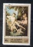 sello : Asia : Emiratos_Árabes_Unidos : F. Boucherr: Venus consolando al amor.