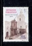 Sellos de America - Ecuador -  Iglesia de San Agustín, Quito