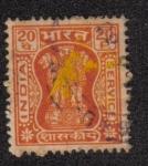 Sellos de Asia - India -  Capital of Asoka Pillar