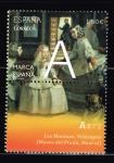 """Stamps of the world : Spain :  Edifil  4887  Marca España.  """" ·A·  Arte.  Las Meninas, Velázquez. ( Museo del Prado, Madrid. """""""