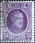 Sellos del Mundo : Europa : Bélgica : Intercambio 0,20 usd 25 cents. 1923