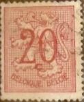 Sellos de Europa - Bélgica -  Intercambio 0,20 usd 20 cents. 1951