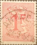 Stamps Belgium -  Intercambio 0,20 usd 1 franco 1951