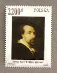 Stamps Poland -  Peter Paul Rubens