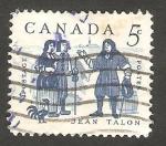 Sellos de America - Canadá -  325 - Jean Talon