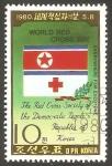 Sellos de Asia - Corea del norte -  Día mundial de la Cruz Roja