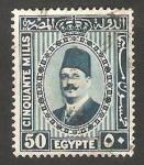 Stamps Egypt -  126 - Rey Fouad I