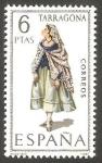 Stamps Spain -  1958 - Traje típico de Tarragona
