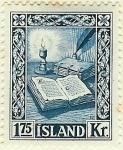 Stamps : Europe : Iceland :  Viejos manuscritos islandeses