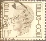 Stamps Belgium -  Intercambio 0,20 usd 11 francos 1976