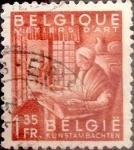 Sellos de Europa - Bélgica -  Intercambio 0,20 usd 1,35 francos 1948