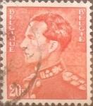 Sellos de Europa - Bélgica -  Intercambio 0,20 usd 20 francos 1951