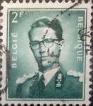Sellos de Europa - Bélgica -  Intercambio 0,20 usd 2 francos 1953