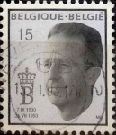 Sellos de Europa - Bélgica -  Intercambio 0,70 usd 15 francos 1993