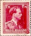 Sellos de Europa - Bélgica -  Intercambio 0,20 usd 1,75 francos 1950