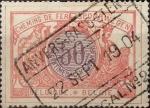 Sellos del Mundo : Europa : Bélgica : 50 cents. 1902