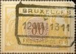 Sellos de Europa - Bélgica -  Intercambio 0,20 usd 80 cents. 1902