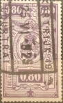 Stamps : Europe : Belgium :  80 cents. 1923
